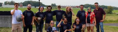 An image of UConn faculty, grad students, and undergrads from the August 2017 Solar Eclipse